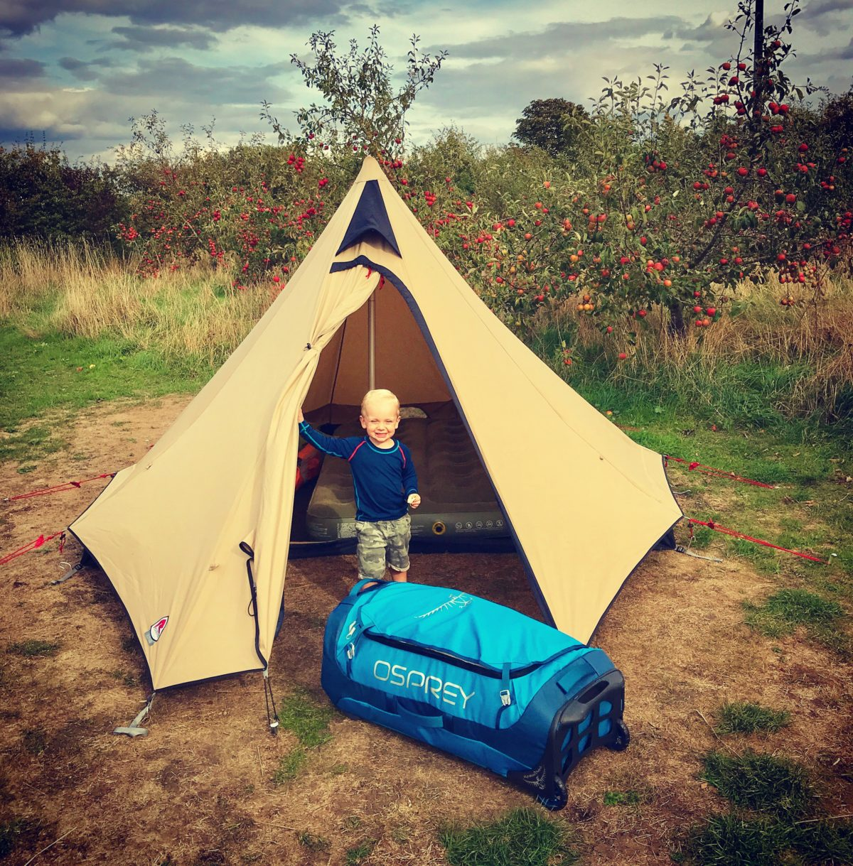 Review Robens Fairbanks Tipi Tent The Outdoor Dad